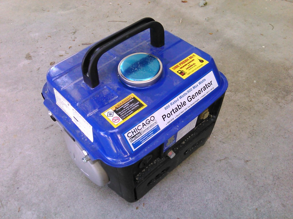 Chicago 66619 Portable Generator